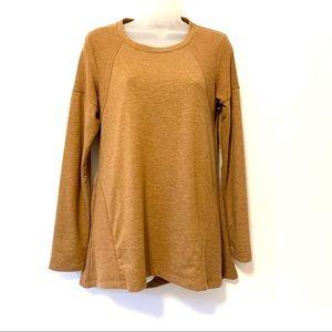 LOGO Lori Goldstein Long Sleeve Sweater